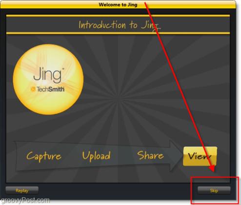 Using Jing Software
