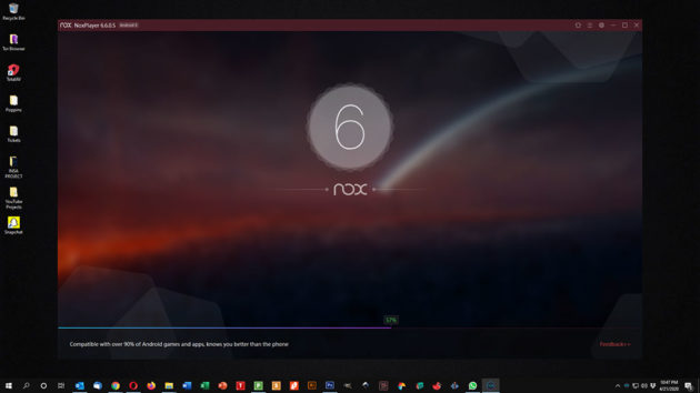 Use Snapchat on PC and Mac - NoxPlayer Launching