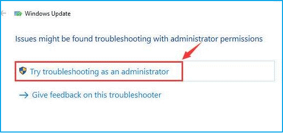 Troubleshooting Administrator