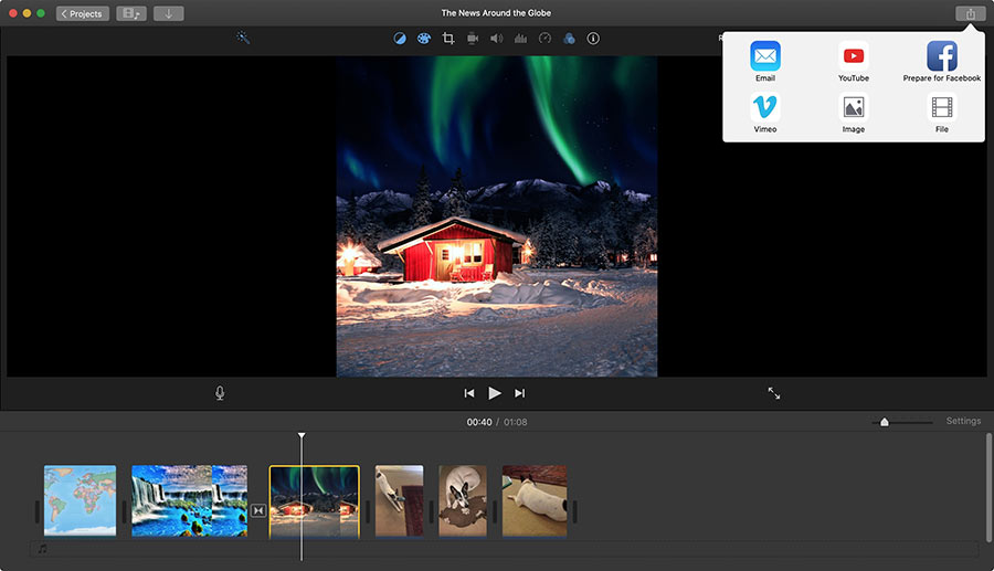 imovie video editor for mac