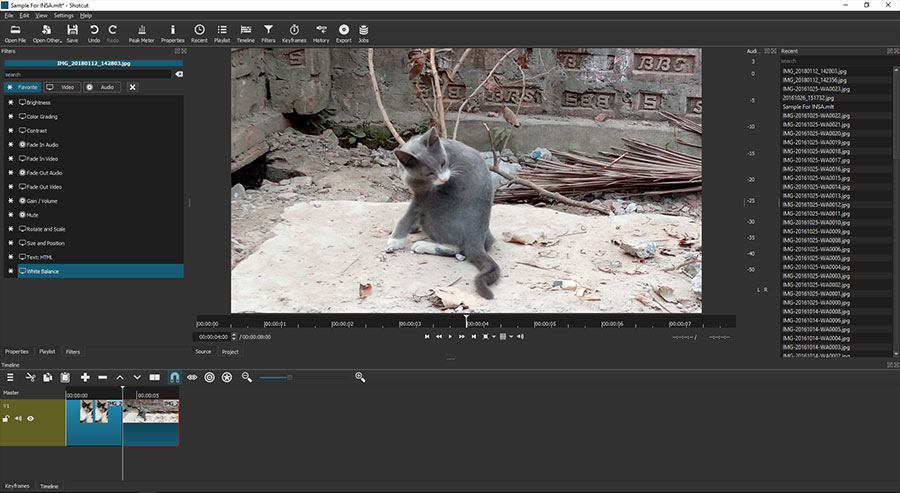 shotcut video editor for windows pc & mac