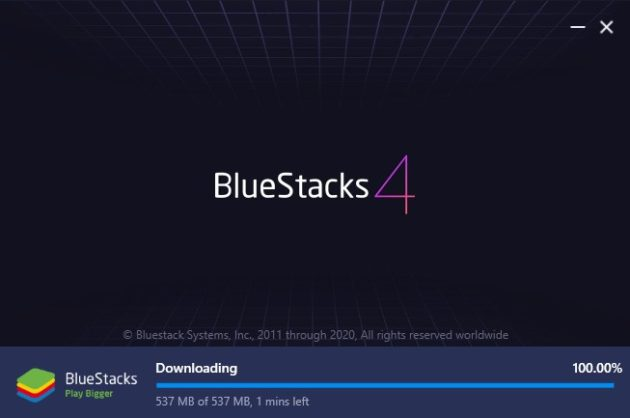 Bluestacks Installer Downloading Offline Data