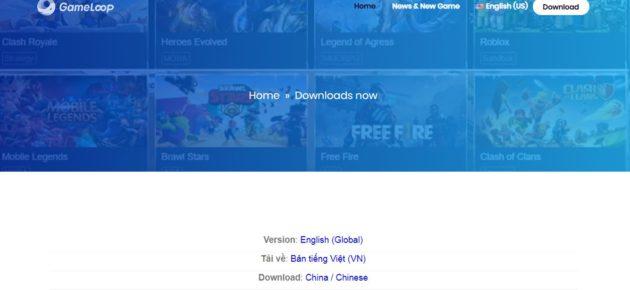 GameLoop For Windows 10