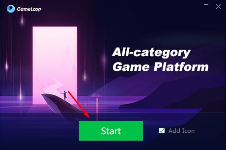 Gameloop Emulator on Windows 10 PC