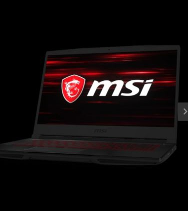MSI GF63 lAPTOP FOR VIDEO EDITING